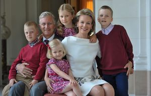 El día a día de la familia real de Bélgica en un excepcional reportaje