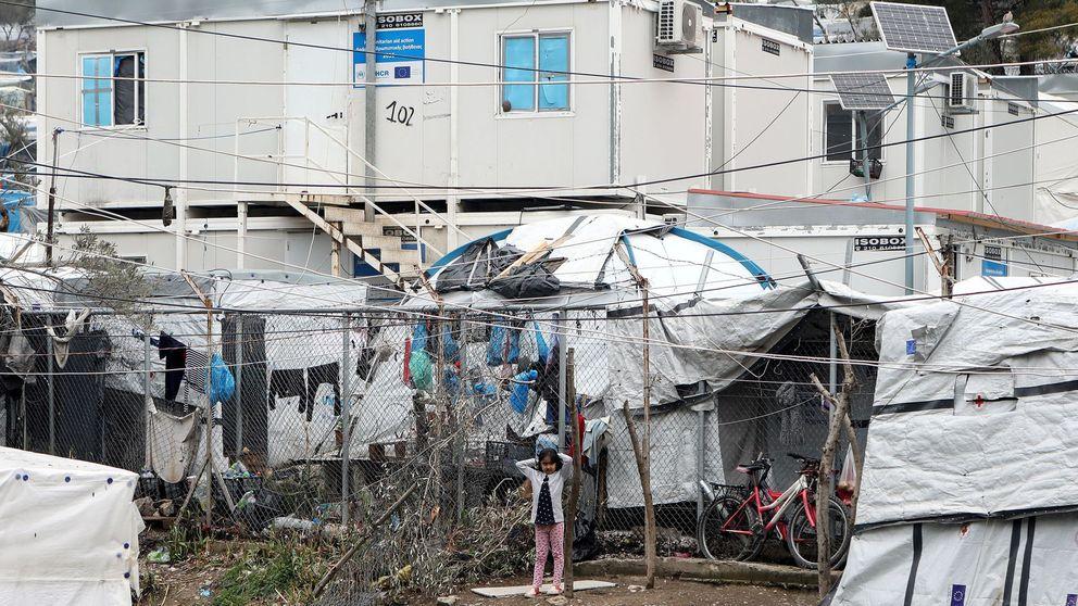 Grecia detecta los primeros dos casos de coronavirus entre refugiados en Lesbos