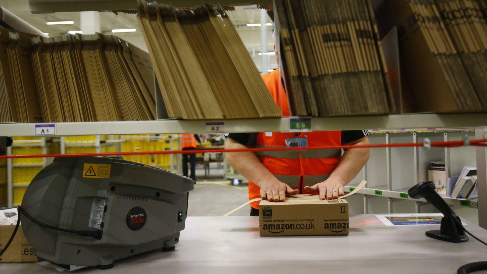 Amazon Los Repartidores En La Sombra De Amazon A 5 38 La Hora