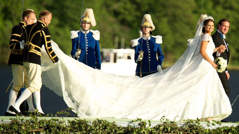 Chris O'Neill y Magdalena de Suecia. (LP)