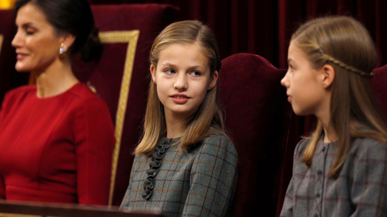 Las dos hermanas. (EFE)