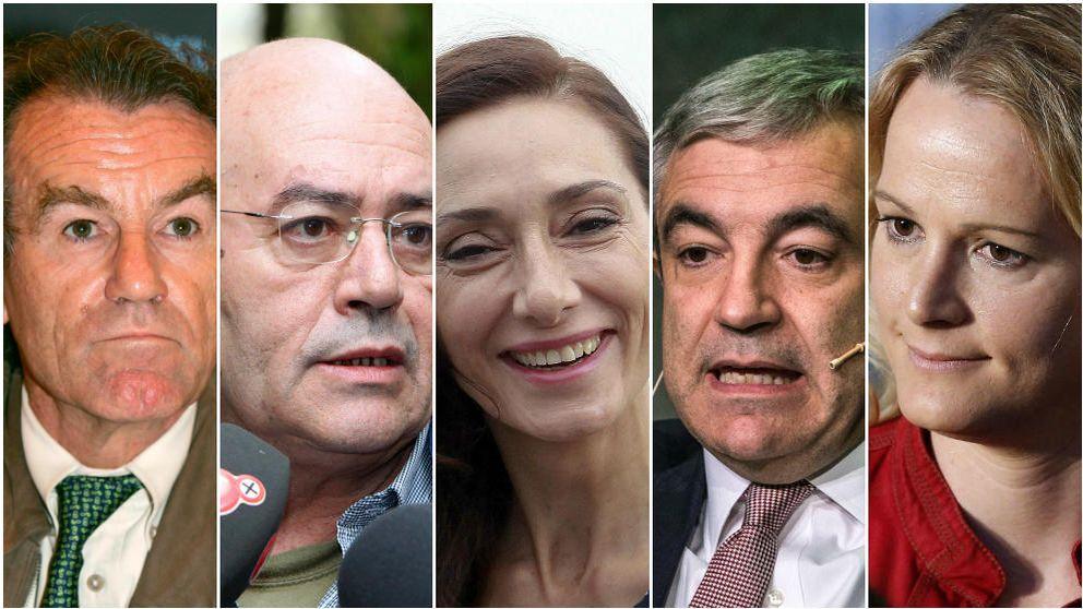 ¿Identificaría las caras de estos miembros de partidos? Compruébelo