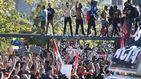 En las calles con los 'hooligans' antifascistas del fútbol brasileño