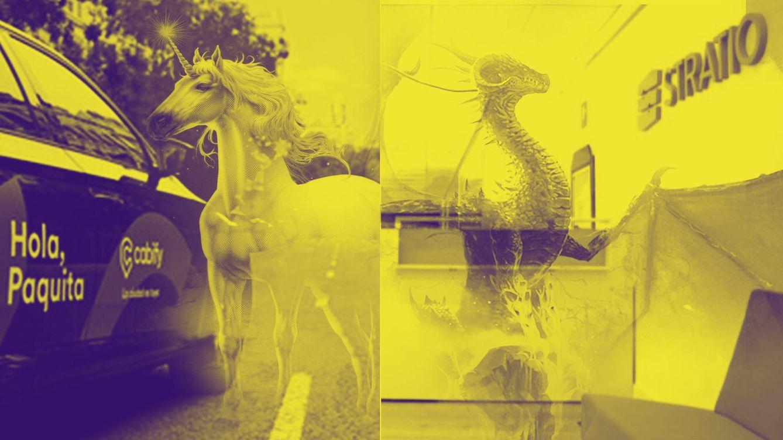 Sobre unicornios (Cabify), dragones (Stratio) y el 'padrino' de Melendi en el Ibex 35