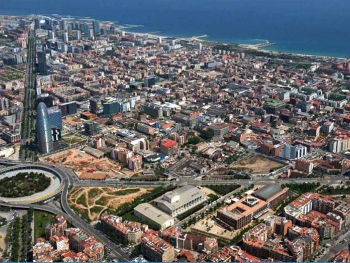 Foto: Distrito 22@, en Barcelona.