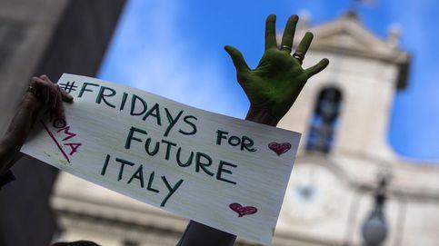 Activistas llaman a combatir el cambio climático en Roma