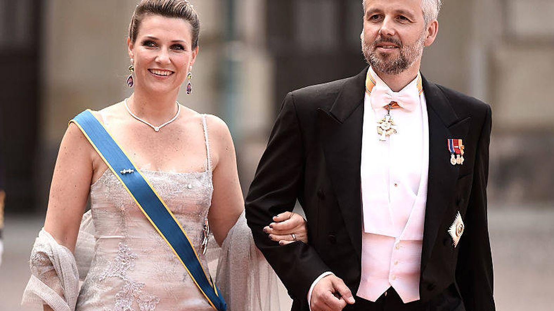 Ari Behn y Marta Luisa de Noruega.(Getty)