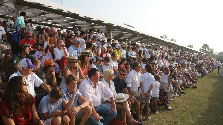 El público del polo en Sotogrande.
