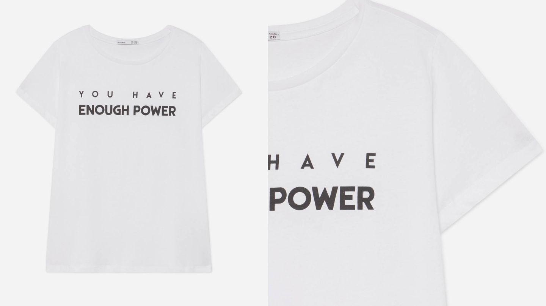 Una camiseta sencilla, con un poderoso mensaje. (Cortesía)