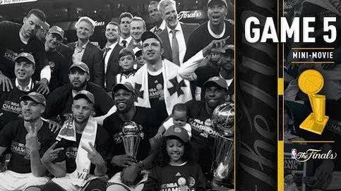 La película del último partido de la final de la NBA que coronó a los Warriors de Durant