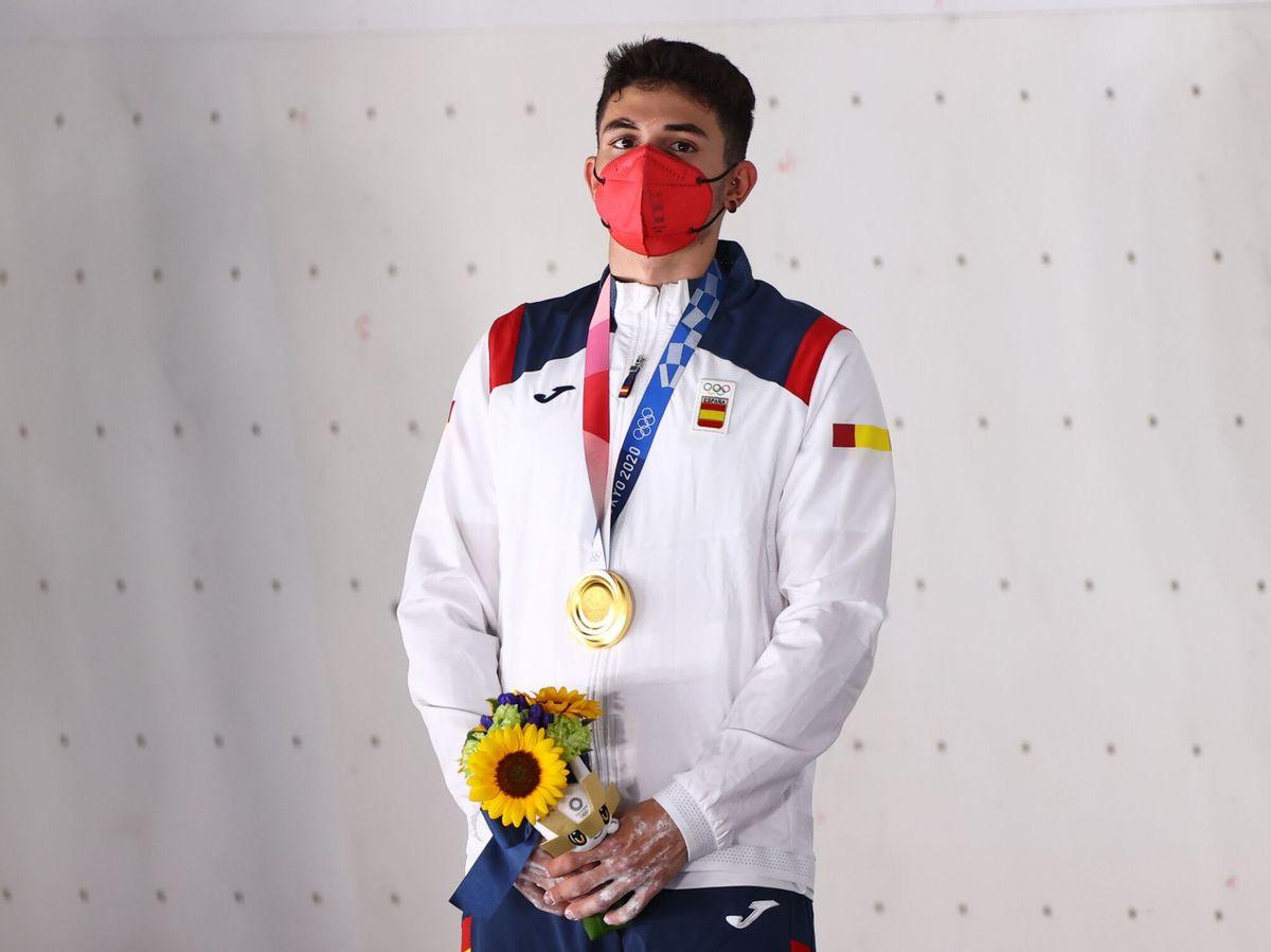 Foto: Alberto Ginés consigue la medalla de oro en Tokio. (Reuters)