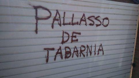 Pintadas en la casa de Tomás Guasch, 'ministro de Deportes de Tabarnia'