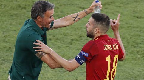 España-Croacia, en directo: Luis Enrique sienta a Jordi Alba y Gerard Moreno