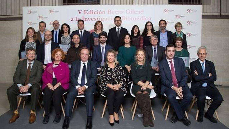 Gilead España destina 900.000 euros a la investigación biomédica