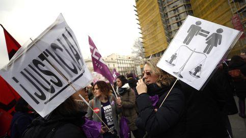 La huelga feminista del 8-M, en imágenes