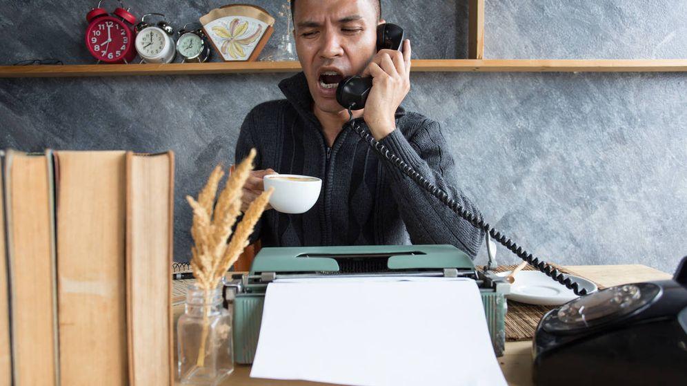 Foto: '¿Cómo? ¿Que si he recibido la nota de prensa que acabas de mandar hace dos minutos?'. (iStock)