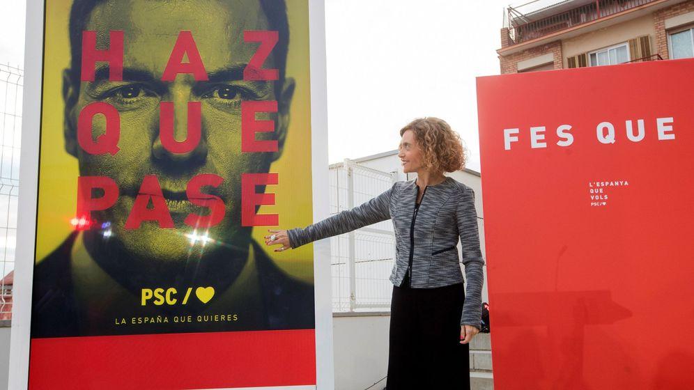 Foto: La número uno del PSC por Barcelona, Meritxell Batet. (EFE)