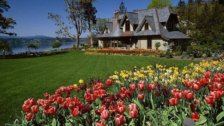 La mansión canadiense donde se alojaron los Sussex. (Sotheby's)