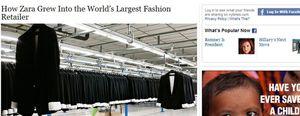 'The New York Times' se rinde ante el modelo de negocio de Zara