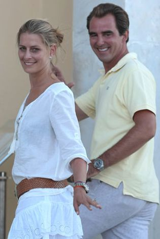 Foto: Los príncipes, Elton John y Carolina de Mónaco ya han llegado a Spetses