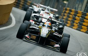 Merhi saca el máximo a su coche para ser cuarto en el GP de Macao