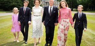 Post de Elisabeth de Bélgica, la gran protagonista de las nuevas imágenes oficiales de la familia
