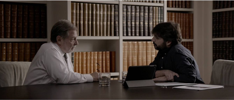 Foto: Juan Luis Cebrian, en la entrevista con Jordi Évole en 'Salvados' (Atresmedia)