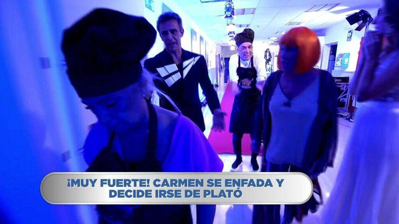 Carmen Borrego, en 'La última cena'. (Mediaset)