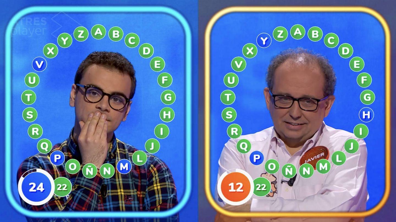 Duelo número 50 entre Javier Dávila y Pablo Díaz. (Atresmedia)