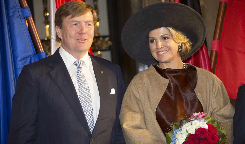 Foto: Máxima y Guillermo de Holanda en Hamburgo el pasado viernes (Gtres)