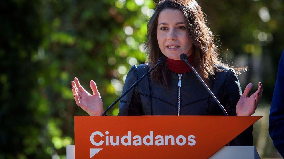 Foto: La líder de Ciudadanos (Cs) en Cataluña, Inés Arrimadas. (EFE)