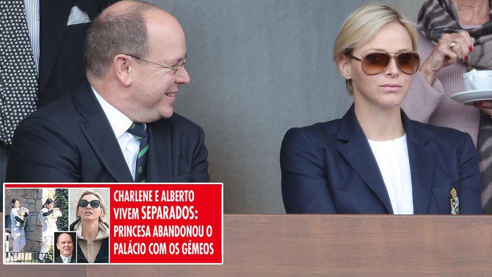 La prensa lusa afirma que Alberto  y Charlène viven separados