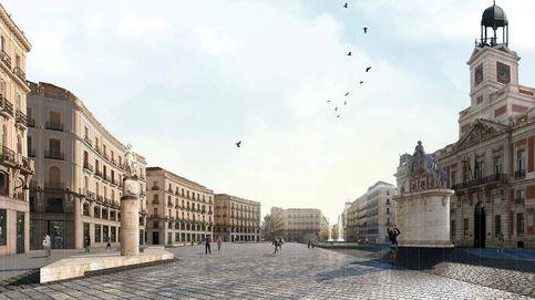 Una Puerta del Sol desnuda: por qué Madrid no pone árboles en sus grandes plazas