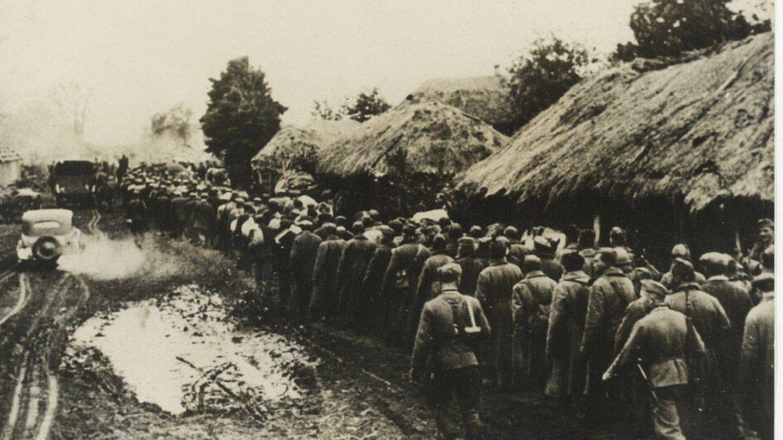 Prisioneros de Kiev en 1941