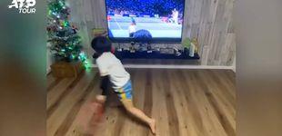 Post de Yu Nosuke, el niño de seis años que asombra a internet imitando a Federer