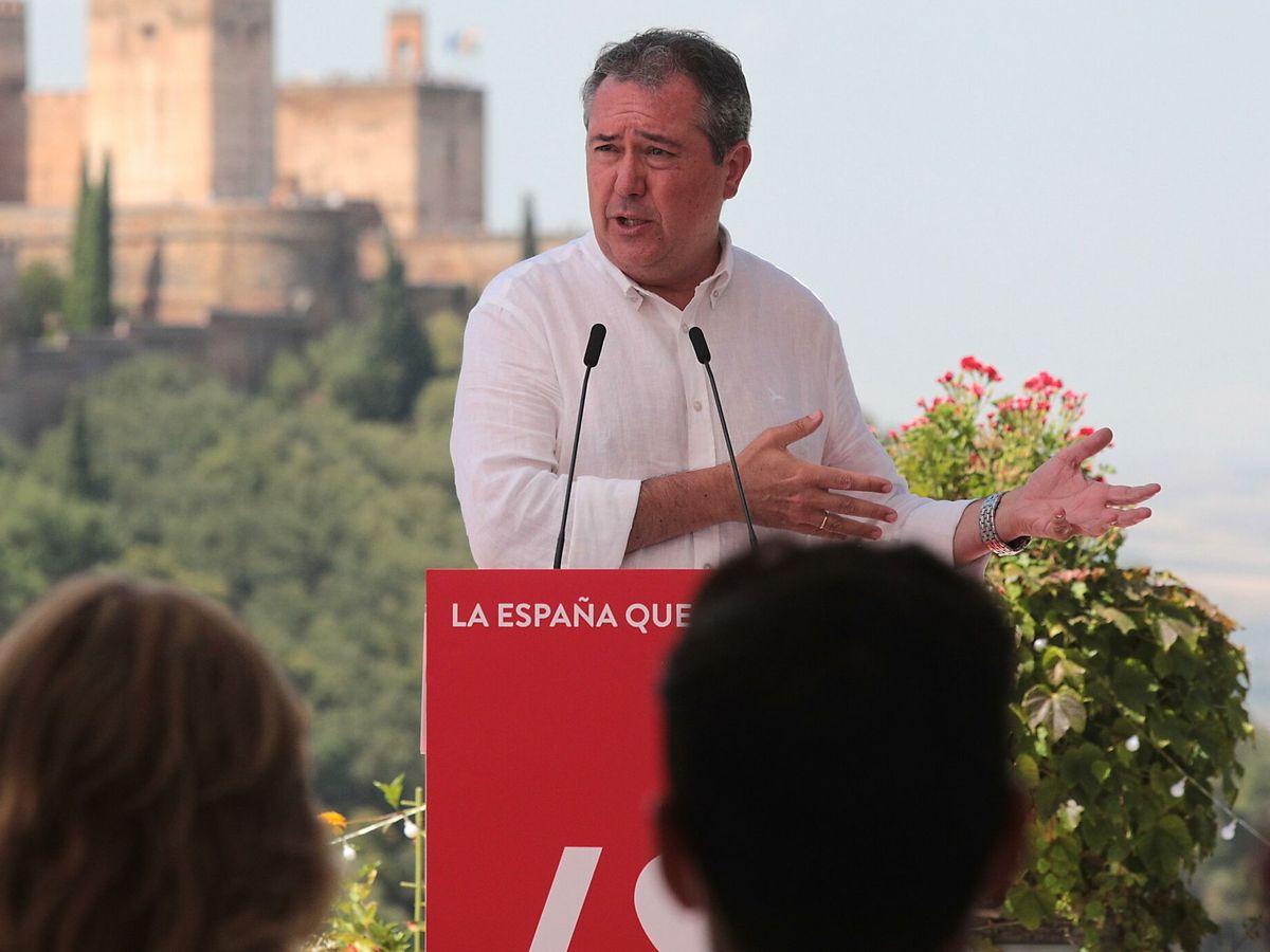 Foto: El alcalde de Sevilla y candidato a la presidencia de la Junta, Juan Espadas. (EFE)
