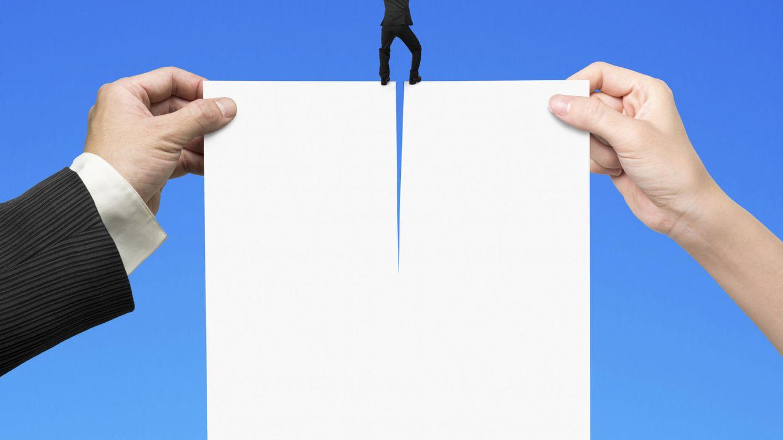Foto: Estás a un tris de que se decanten por otra candidatura. Corrige tus errores y consigue el trabajo. (iStock)