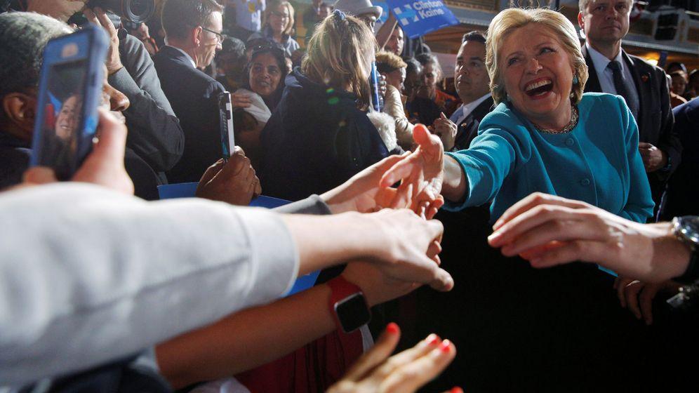 Foto: La candidata demócrata Hillary Clinton