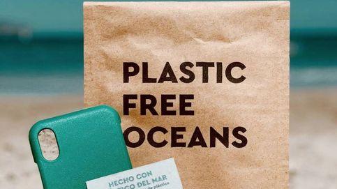 Fundas de móvil con plástico reciclado del mar: el proyecto ecologista de dos jóvenes pamploneses