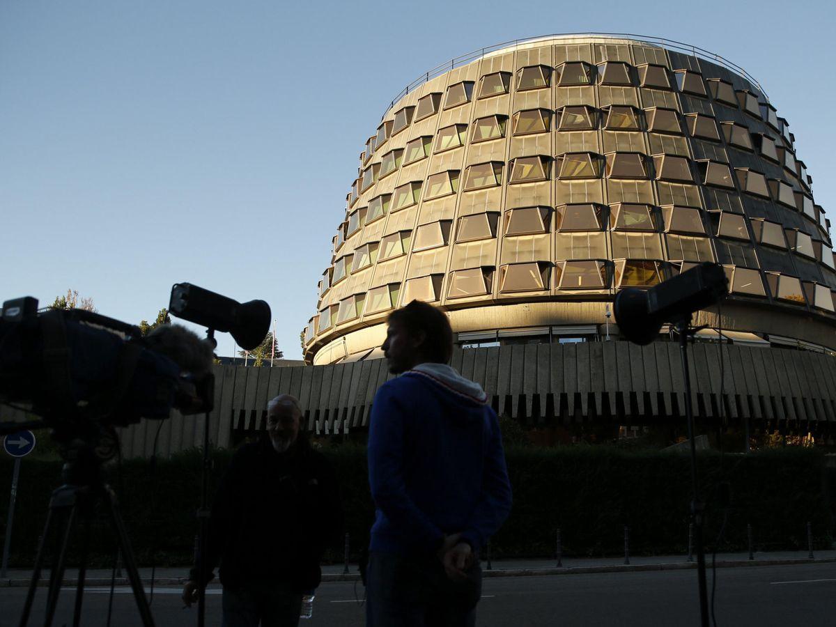 Foto: La fachada del Tribunal Constitucional. (EFE)