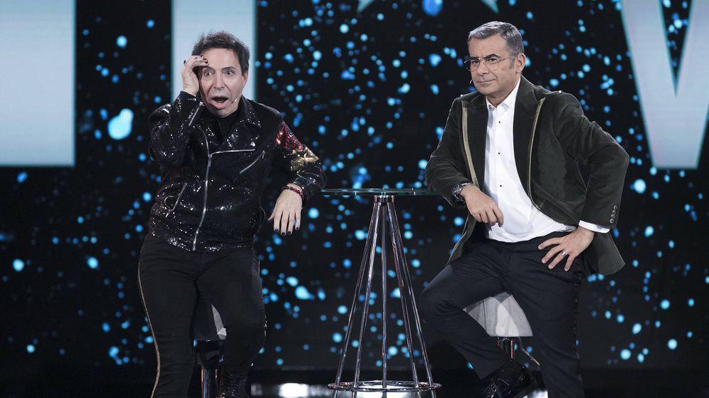 Foto: El Maestro Joao y Jorge Javier Vázquez en 'GH VIP 7'. (Mediaset España)