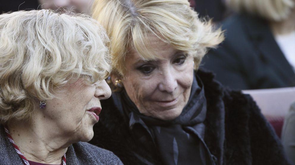 Aguirre boicotea la rueda de prensa de Carmena y le alcaldesa le da la razón