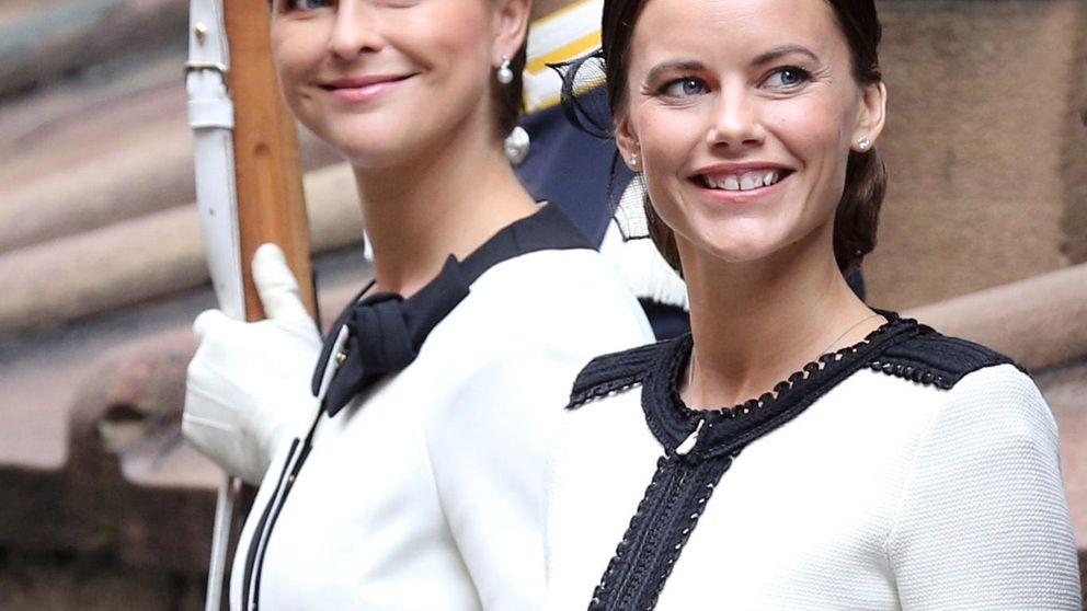 Magdalena y Sofía de Suecia, dos 'gemelas' en la apertura del Parlamento