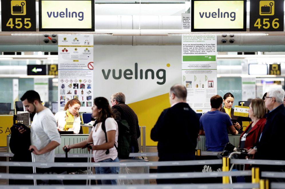 Foto: Vueling suspende en puntualidad. (EFE)
