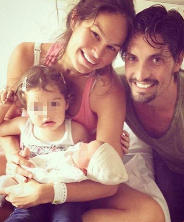 Foto: Mireia Canalda y Felipe López junto a sus dos hijos, Inés y Nuno (Instagram)