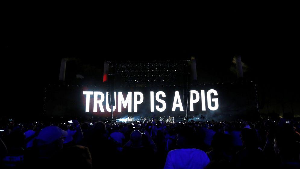 Foto: Roger Waters arremete contra Donald Trump en sus conciertos (Reuters)