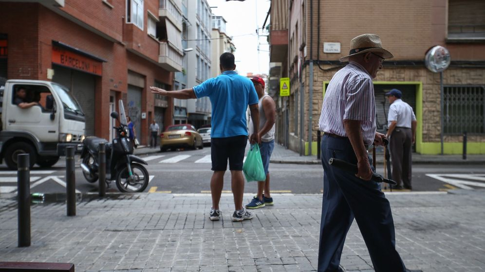Foto: Calle Vilapicina del distrito de Nou Barris, en Barcelona. (EFE)