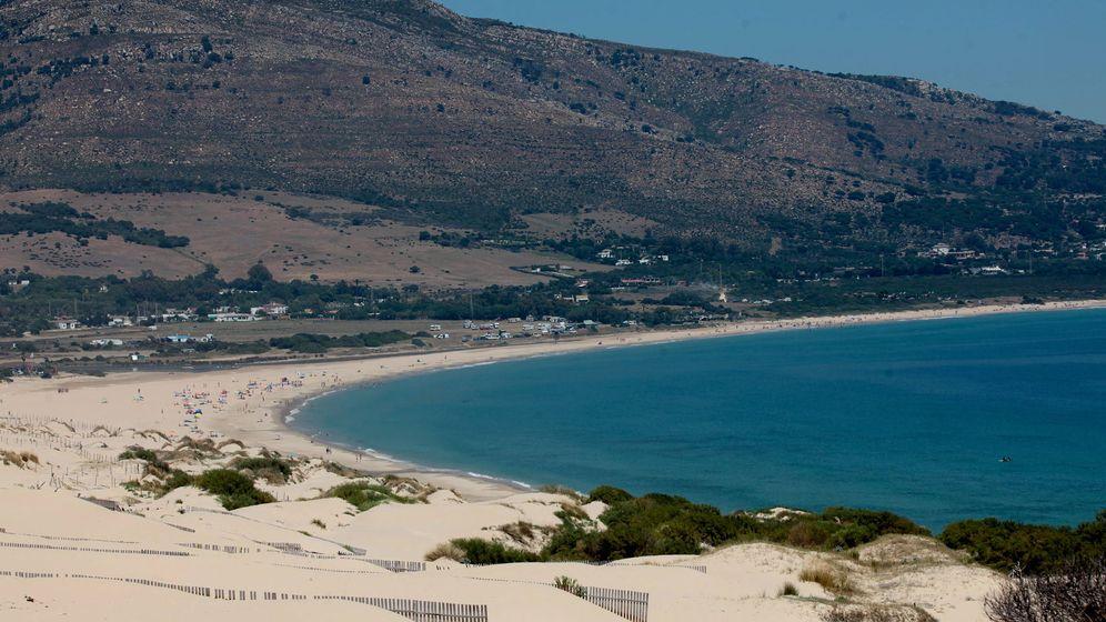 Foto: Imagen de la playa de Valdevaqueros, en Tarifa (Cádiz).