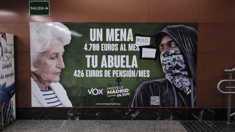 Aval legal al cartel de Vox sobre los menores extranjeros: Es legítima lucha ideológica