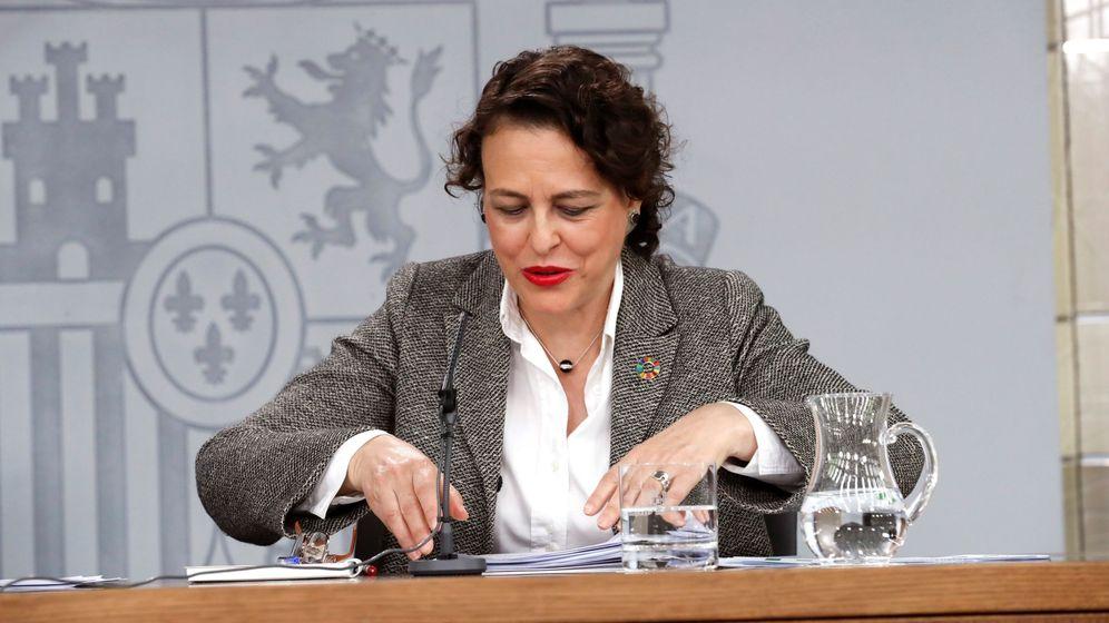 Foto: La ministra de Trabajo y Seguridad Social, Magdalena Valerio (Efe).